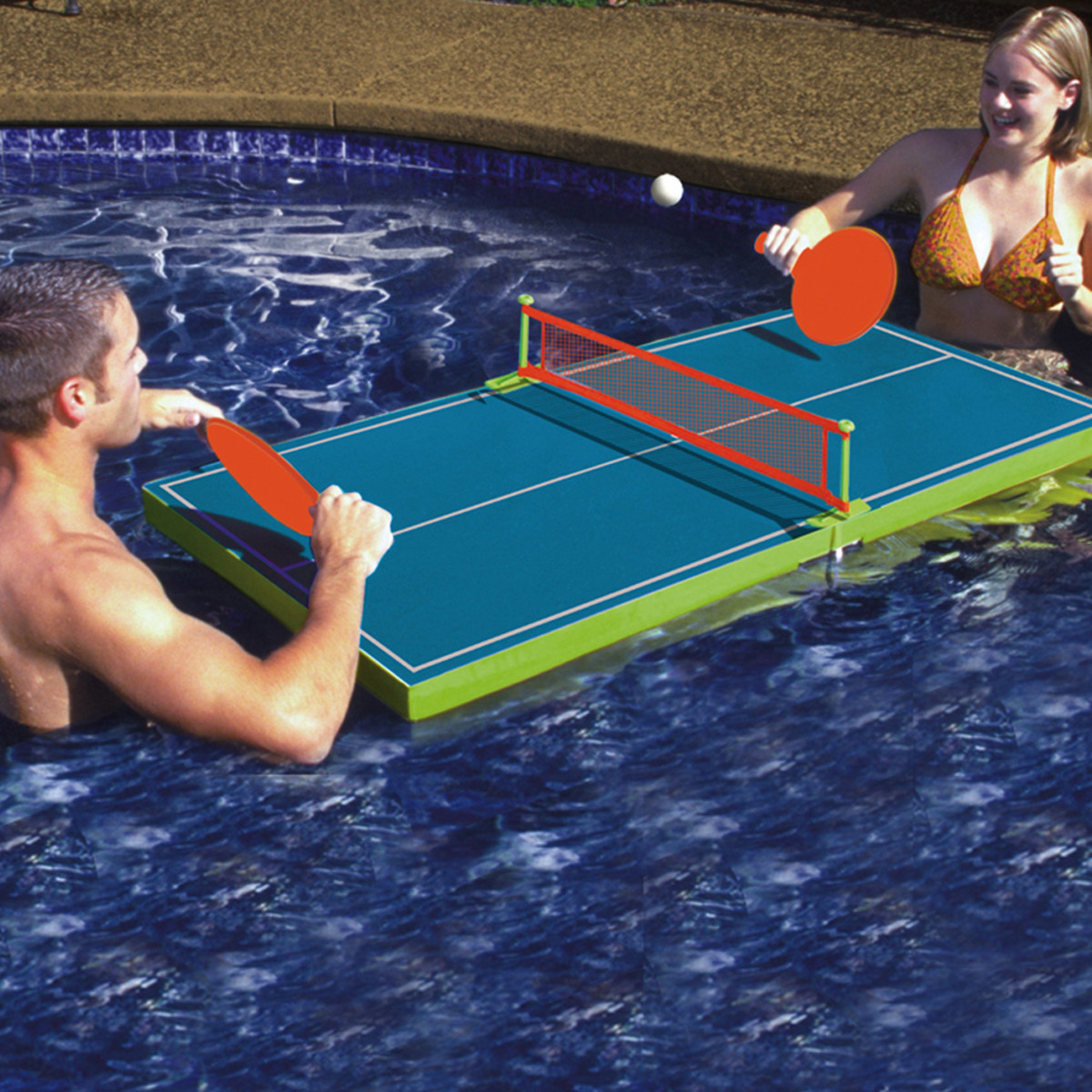 Poolmaster Floating Table Tennis Game Pool Sports Games Splash Super Center