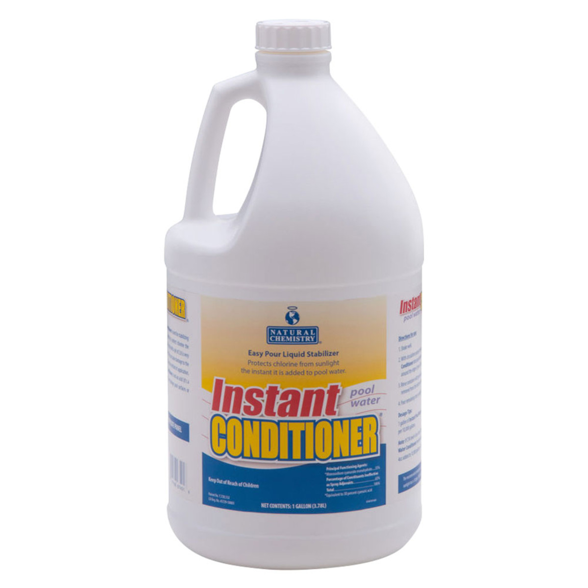 Natural chemistry instant pool water conditioner 1 gallon phosphate removers splash super for What is swimming pool conditioner