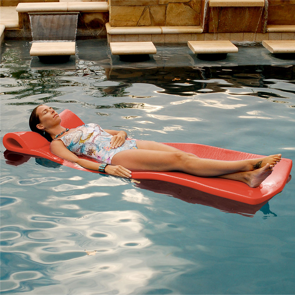 Texas Rec 70 X 25 X Sunray Swimming Pool Foam Mattress Float Coral Ebay