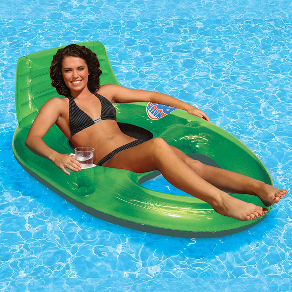 Poolmaster Adjustable Chaise Floating Lounge : Inflatable Lounges : Splash Super Center
