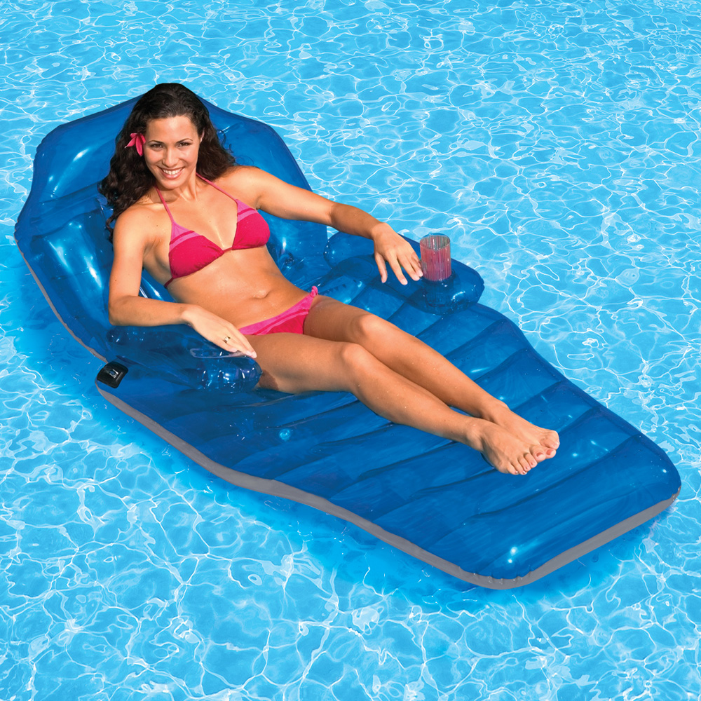 Intex Floating Recliner Lounge Inflatable Lounges
