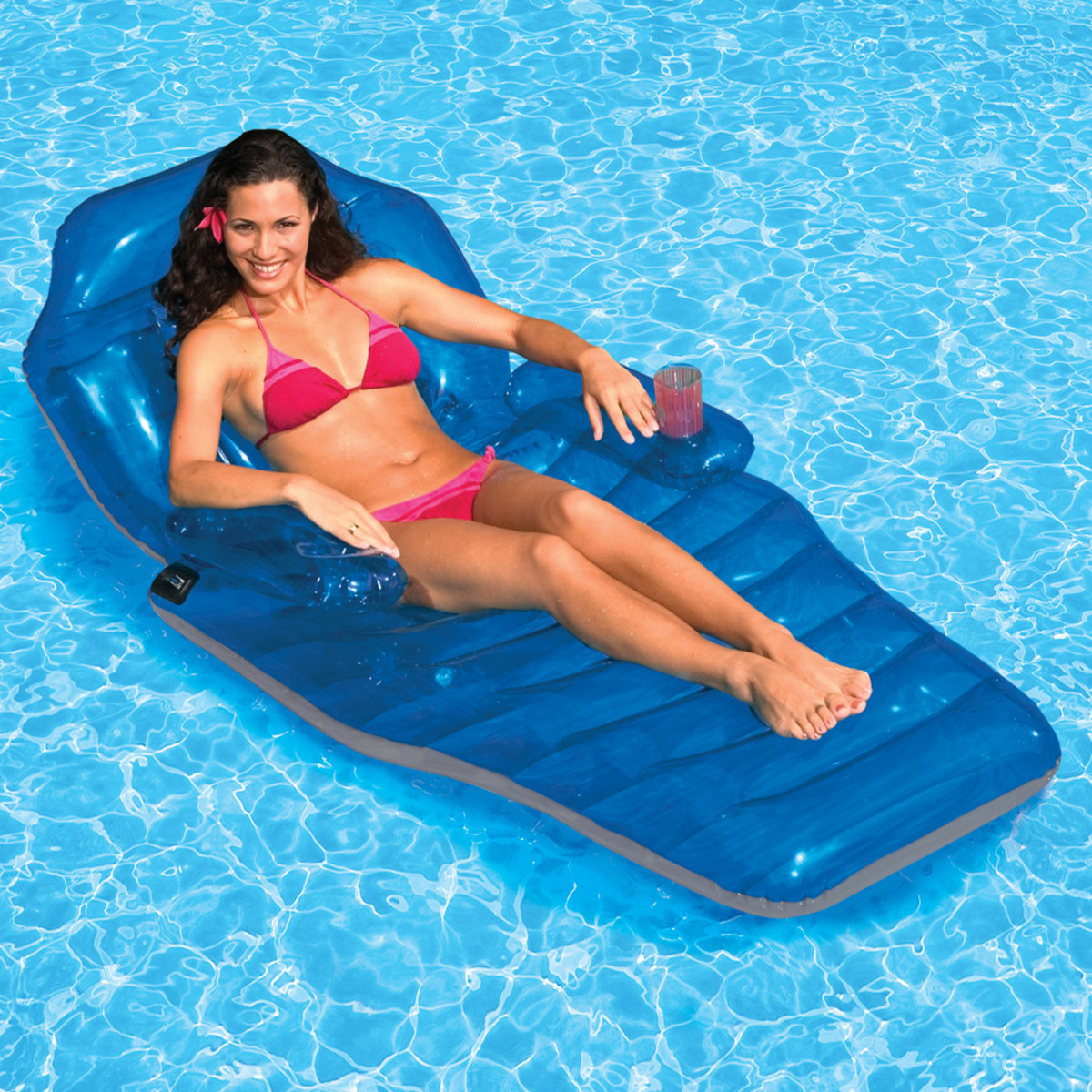Poolmaster Adjustable Chaise Floating Lounge Inflatable