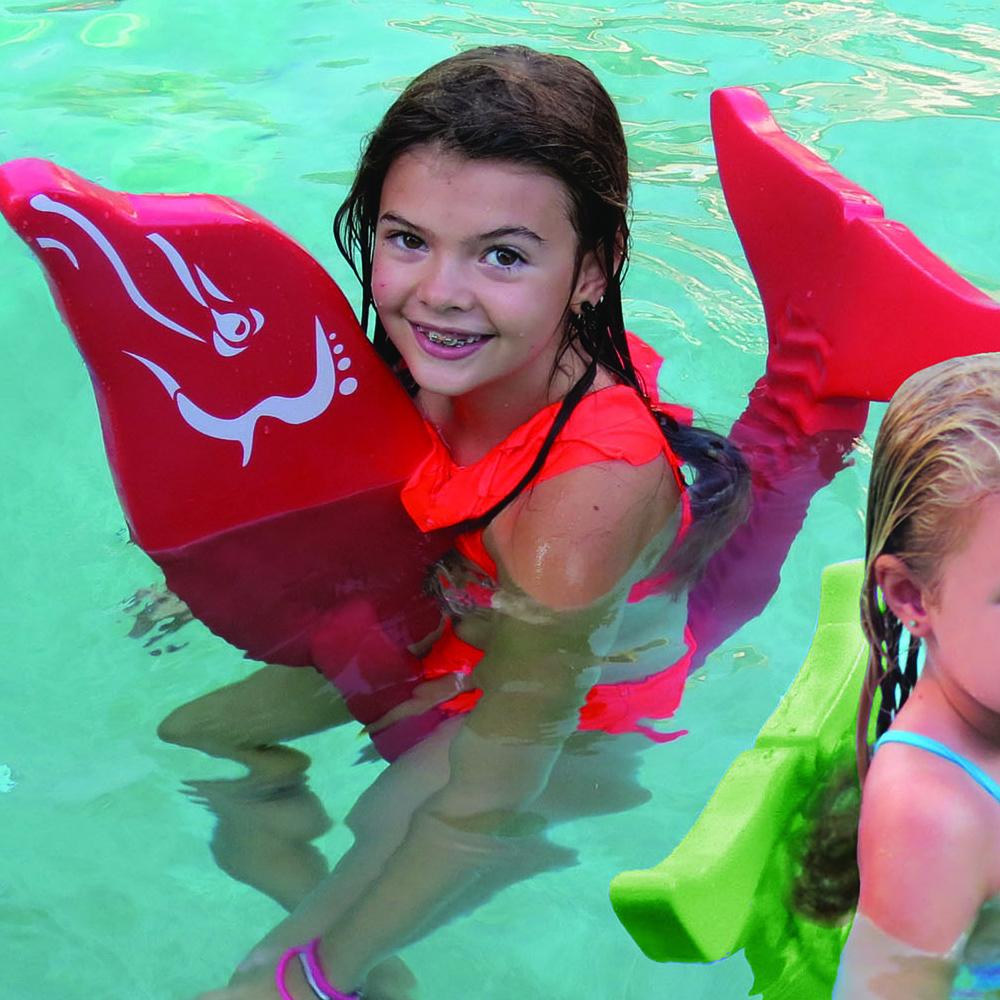 Texas Rec 54 Quot Flipper Dipper Dolphin Swimming Pool Foam