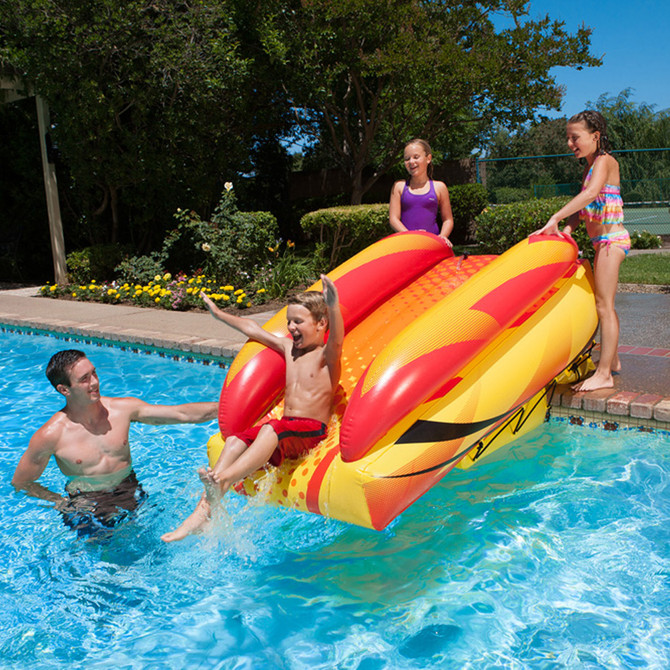 Inflatable Water Slides Pool Games Amp Toys Splash Super