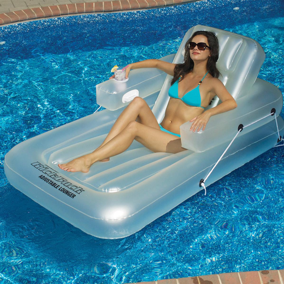 Poolmaster Adjustable Chaise Floating Lounge Splash