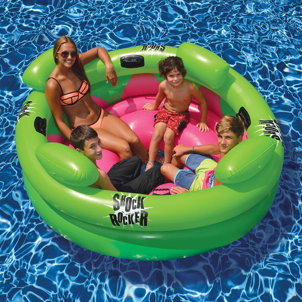 Swimline 72 Swimming Pool Shock Rocker 4 Person Inflatable Float 723815090560 Ebay