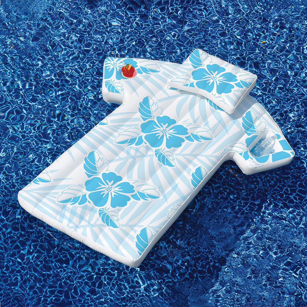 2-Pack Robelle Industries Inc.Toys 16145SF-02 Solstice Aqua Window Floating Mattress for Swimming Pools