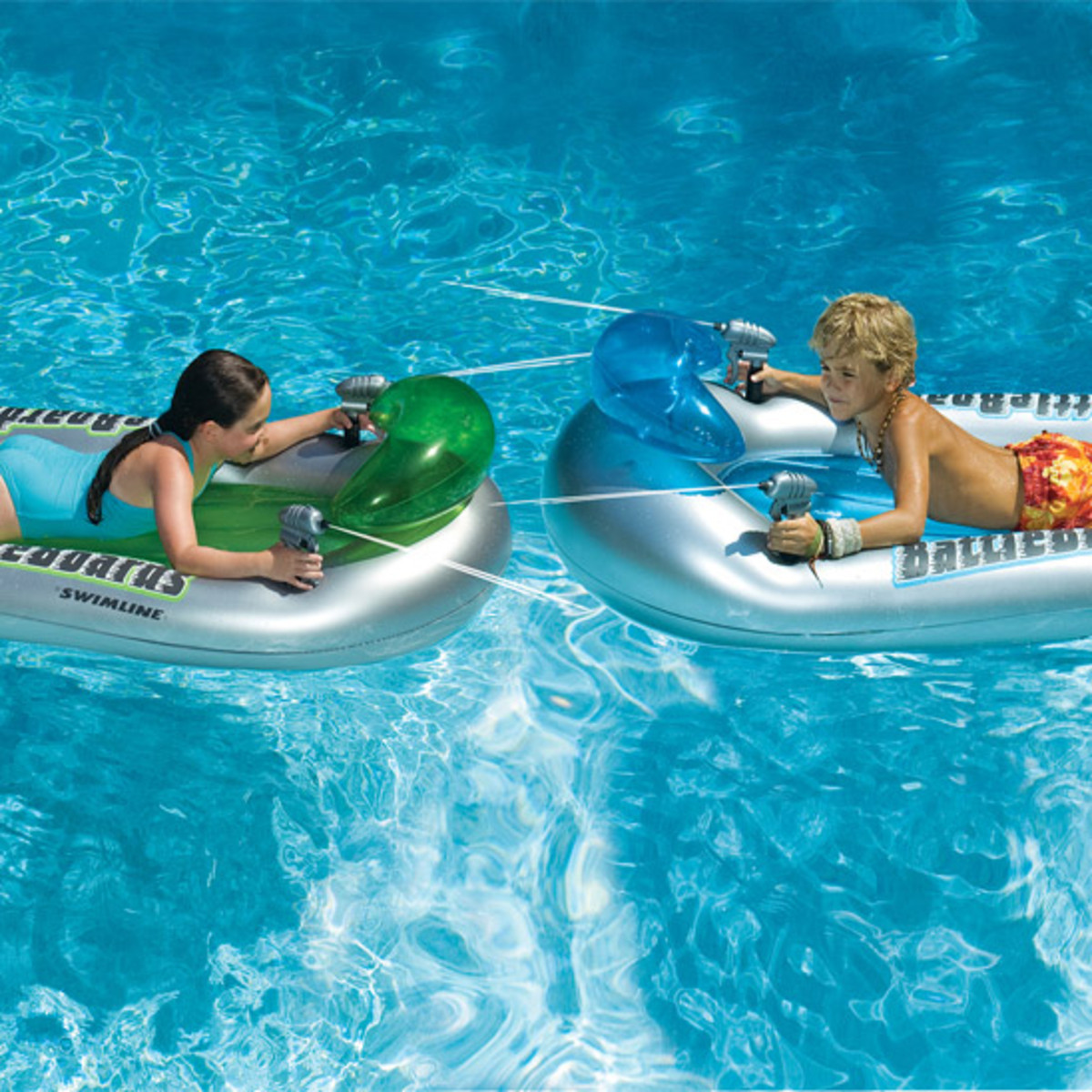 Swimline Battleboard Squirter Set Pool Floats Splash