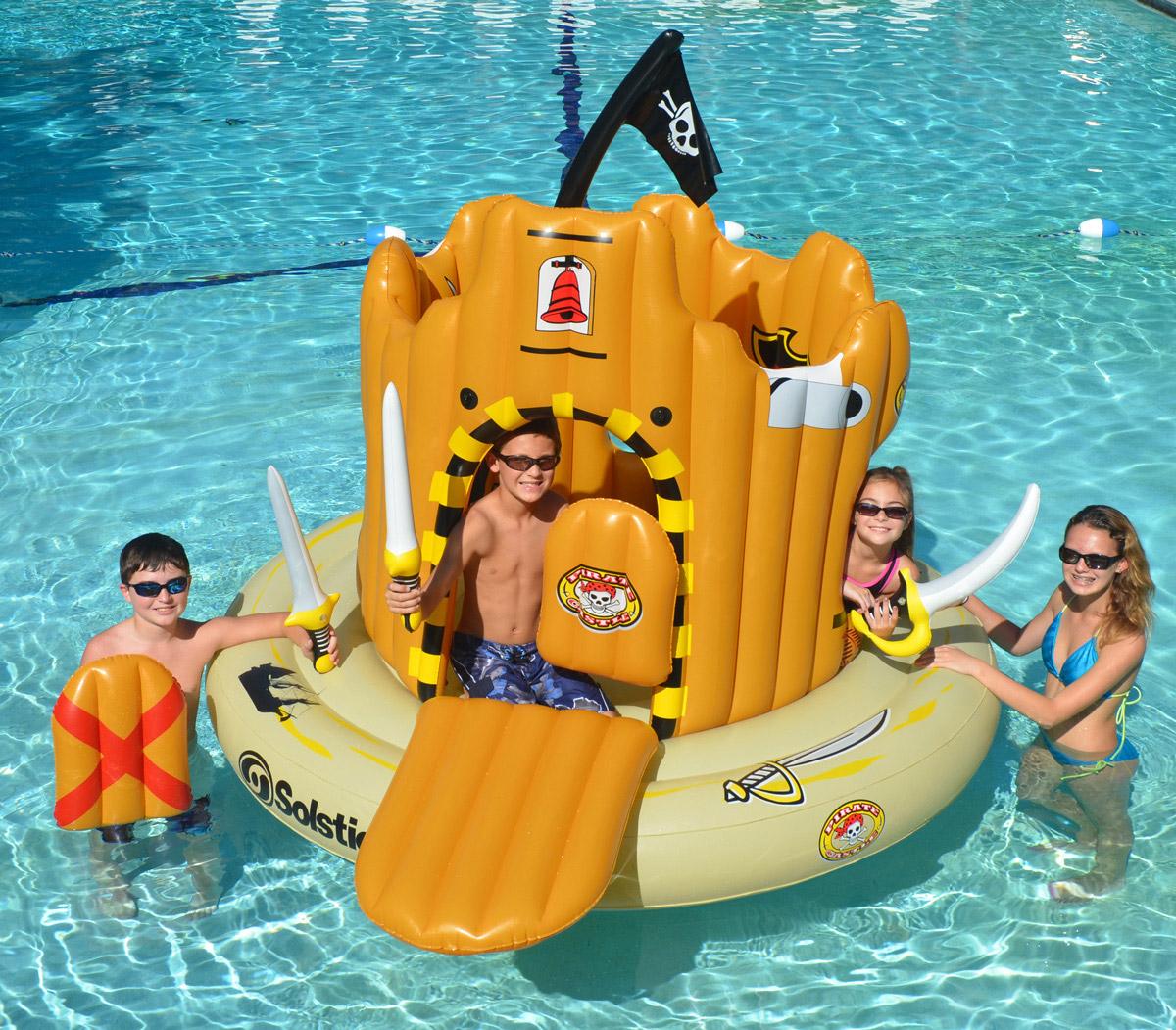 Swimline 82 Quot X 62 Quot Pirate Island Swimming Pool Inflatable