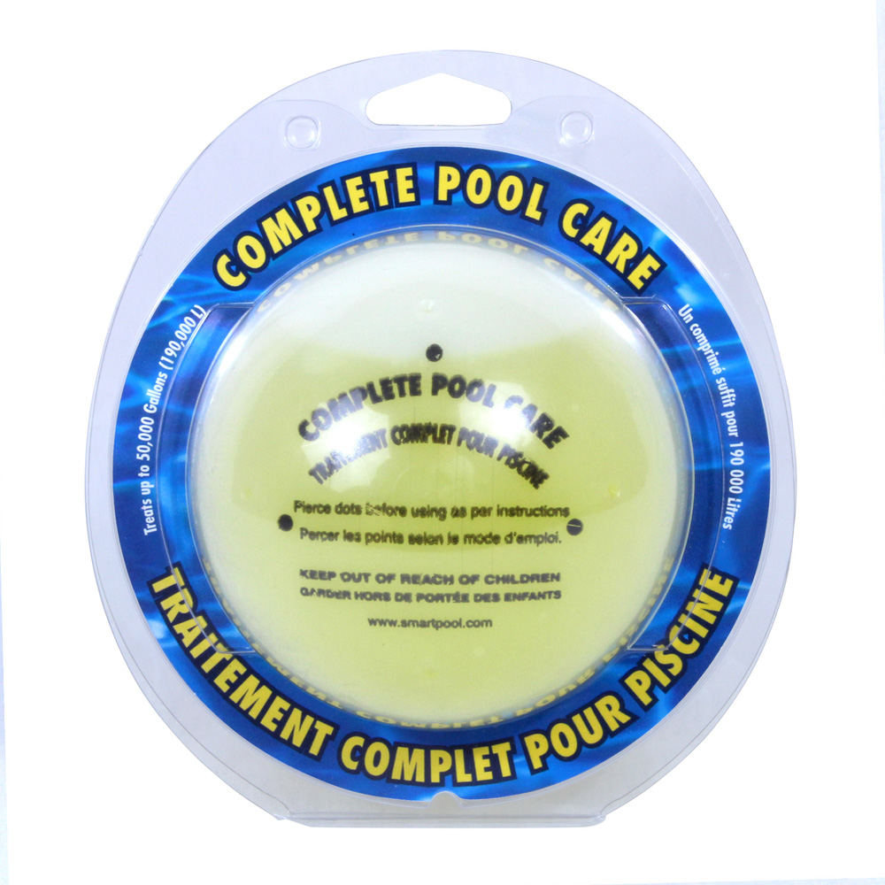 Aquapill Complete All In One Swimming Pool Chemical Care Guide Ebay