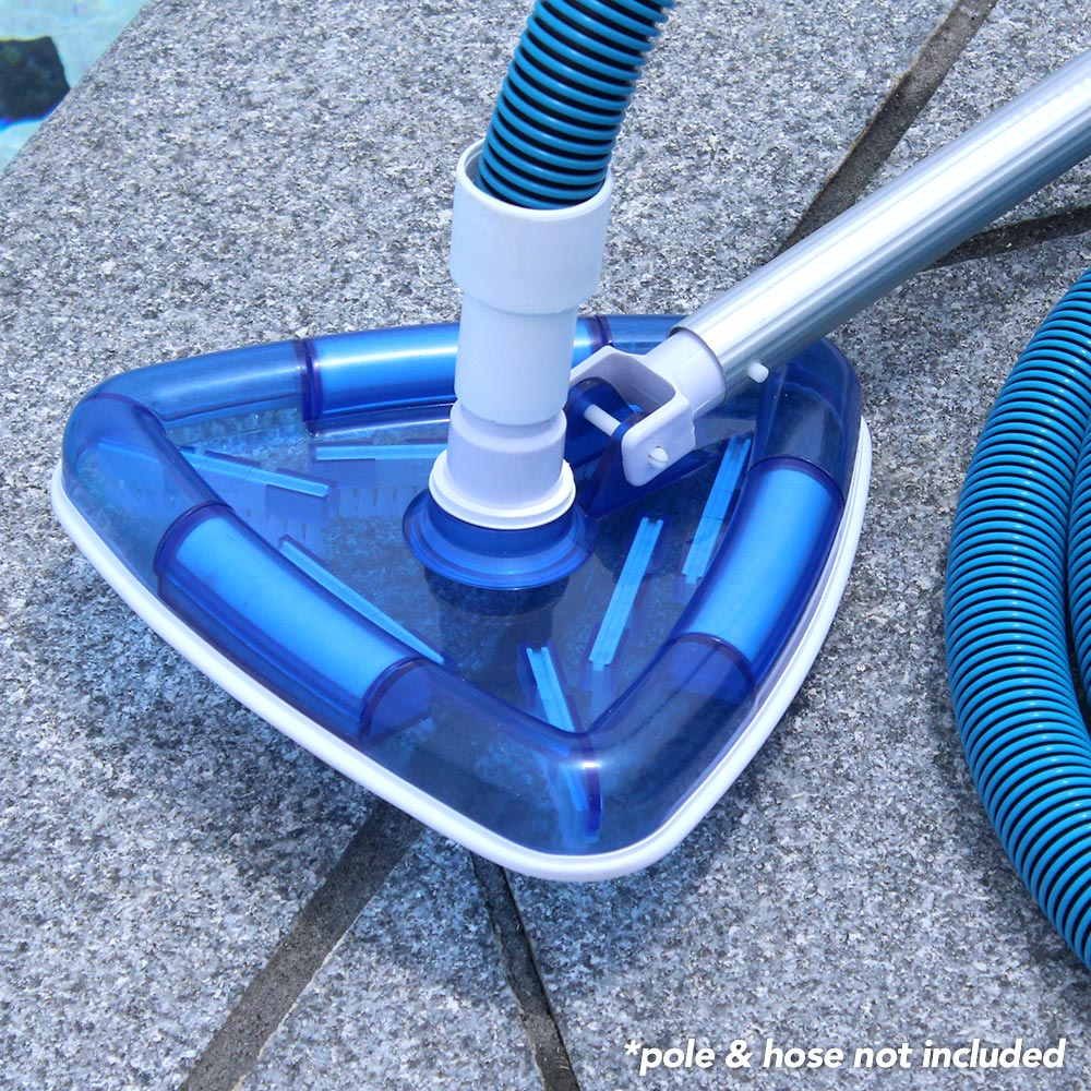 Swimming Pool Cleaning Attachments : Kokido swimming pool spa transparent triangular vacuum