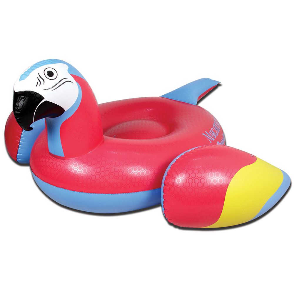 Margaritaville 86 Quot Parrot Head Inflatable Swimming Pool