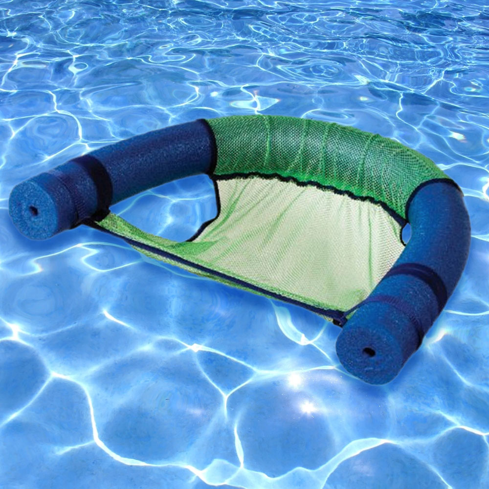 Robelle Noodle Swimming Pool Float Chair Sling Green