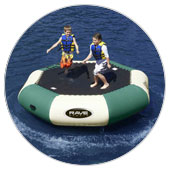 Water Bouncers & Trampolines