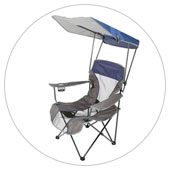 Folding Canopy Chairs